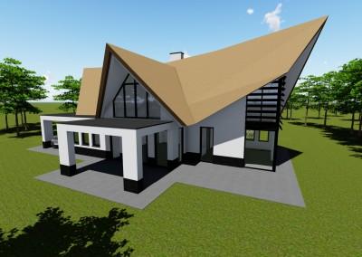 Modern landhuis